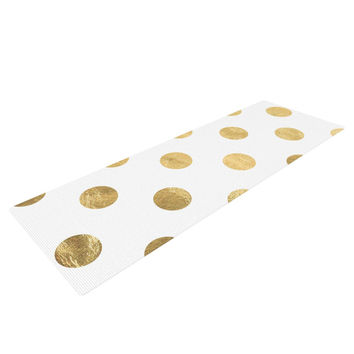 "KESS Original ""Scattered Gold"" Yoga Mat"