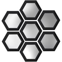"Walmart: Elements 7"" Hexagon PS Wall Mirrors, Set of 7"