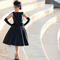 Audrey 50s Style Cocktail Dress