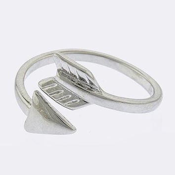 Simple Arrow Wrap Ring