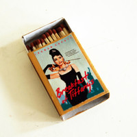 Breakfast at Tiffany's - Book Covered Matchbox - Truman Capote