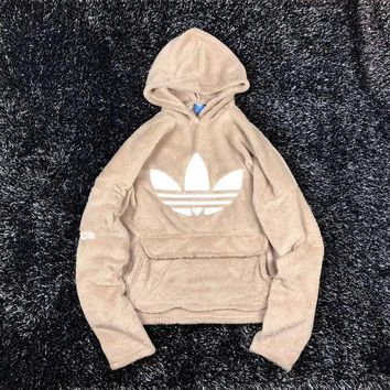 LMF8UH Adidas Cashmere Hooded Sweater