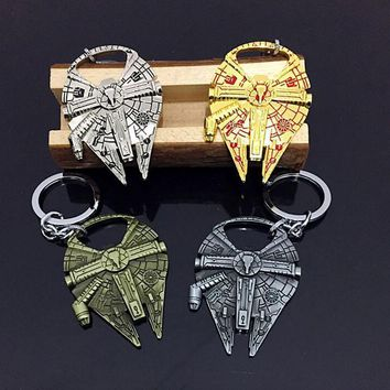 Deadpool Dead pool Taco Star Wars Millennium Falcon R2D2 Darth Vader Beer Bottle Opener Keychain Key Rings  Openers Pendants Star Treck Gifts AT_70_6