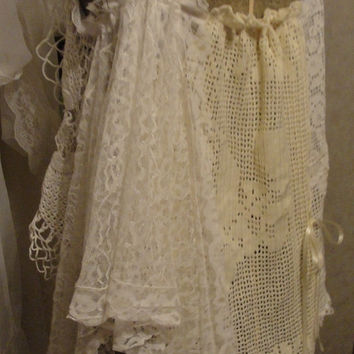Reserved for Kim Papacek only               Gypsy boho lace camisole, bohemian, shabby chic romantic clothing