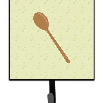 Wooden Spoon on Green Leash or Key Holder BB7300SH4