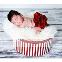 Newborn Diaper Cover Red by NewbornPhotoProps on Etsy