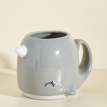 Come to the Tusk Mug | Mod Retro Vintage Kitchen | ModCloth.com