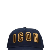 Blue Icon Hat by Dsquared2