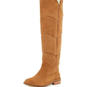UGG Australia Women's Chestnut Suede Tall Boots