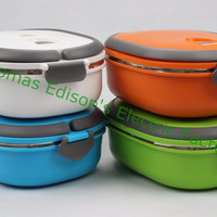 900ml Stainless Steel Bento Lunch Box Thermal Food Container
