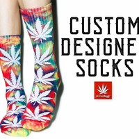 DESIGN YOUR OWN WEED SOCKS