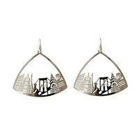 New York City Skyline earrings | Tita' Bijoux