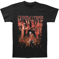 Cannibal Corpse Men's  Torture / Spring 2013 Tour T-shirt Black