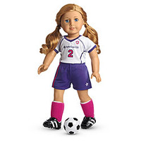 American Girl® Clothing: Soccer Outfit + Charm