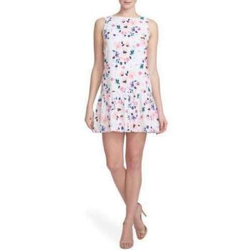 Cynthia Steffe Charley Floral Drop Waist Dress