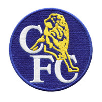 Vintage Style Chelsea FC Football Club Patch 9cm
