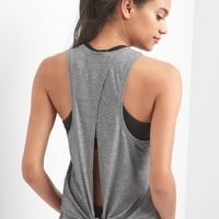GapFit Breathe tie-back tank | Gap