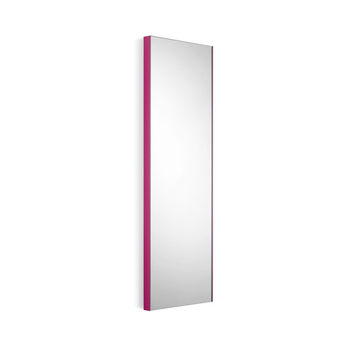 WS Bath Collections Speci 5673.09 Linea Speci 5673 Wall Mounted Mirror with White Frame - (In White)