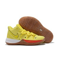 "SpongeBob SquarePants x Nike Kyrie 5 ""SpongeBob"" Men Sneaker Women Basketball Shoes - Best Deal Online"