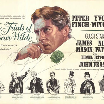 The Trials of Oscar Wilde 11x17 Movie Poster (1960)