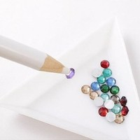JVVN 2 x Rhinestone Picker Pencil Pen Tool For Nail Art / Crafting With Bonus
