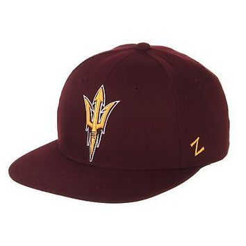 Licensed Arizona State Sun Devils NCAA M15 Size 7 7/8 Fitted Hat Cap by Zephyr 529966 KO_19_1