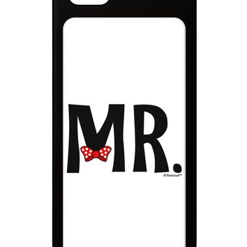 Matching Mr and Mrs Design - Mr Bow Tie iPhone 5 / 5S Grip Case  by TooLoud