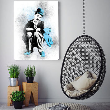 The Tramp art print, pop art, modern wall art, contemporary print, vintage art print, wall art printable, printable poster, printable art