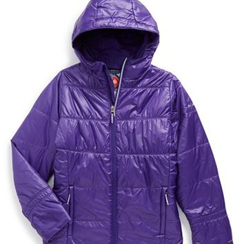 Girl's Columbia 'Shimmer Me' Omni-Heat Insulated Jacket,