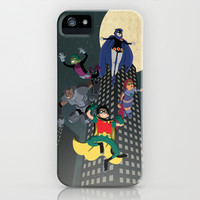 Teen Titans iPhone & iPod Case by Fuacka
