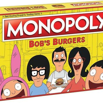 USAopoly Bob's Burgers Edition Monopoly Board Game 0180 4846