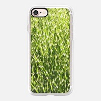 Casetify iPhone 7 Classic Grip Case - Fresh green by littlesilversparks #iPhone 7