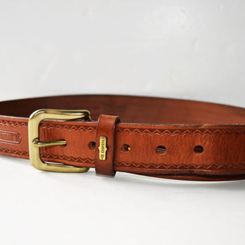 leather belt. The country,Size 85/34, width 3.5 cm-1 1/3 inches