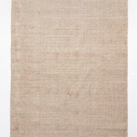 Striped Edge Flatweave Rug by Anthropologie