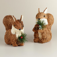 Natural Fiber Chipmunks, Set of 2 - World Market