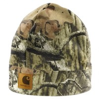 Carhartt Camo Fleece Hat A294 | Hats & Headwear | WorkwearUSA