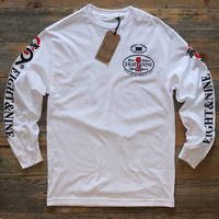 Offshore Imports L/S Tee White