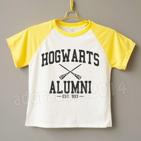 Teens Clothes Hogwarts Alumni T-Shirt Harry Potter T-Shirt Magic Spell T-Shirt Teens Short Sleeve Teens Baseball Shirt Jersey Teens T-Shirt