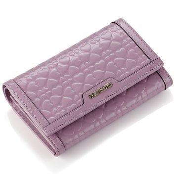 Ladies Wallet Leather Stylish Casual Clip [9338144775]