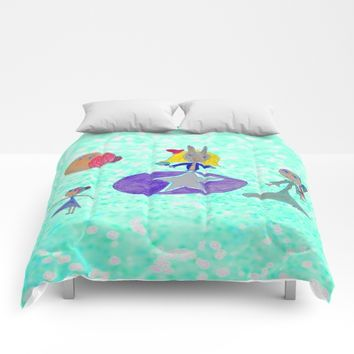 Alice | Up to the light sky Comforters by Azima