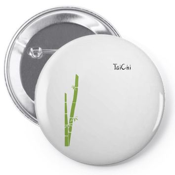 Tai Chi - Be Your Action Pin-back button