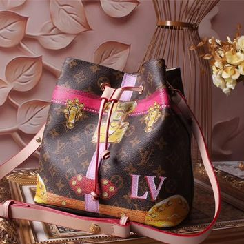LV Louis Vuitton WOMEN'S MONOGRAM CANVAS NEONOE SHOULDER BAG