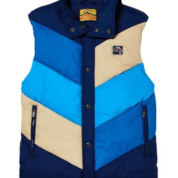Retro Striped Jacket Vest by Scotch & Soda
