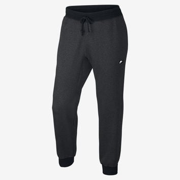 The Nike AW77 French Terry Shoebox Cuffed Men's Sweatpants.