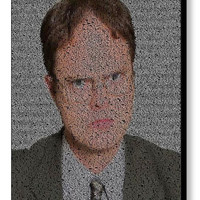 The Office Dwight Schrute Quotes Mosaic INCREDIBLE