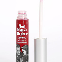 The Balm Meet Matt(e) Hughes Loyal Red Liquid Lipstick