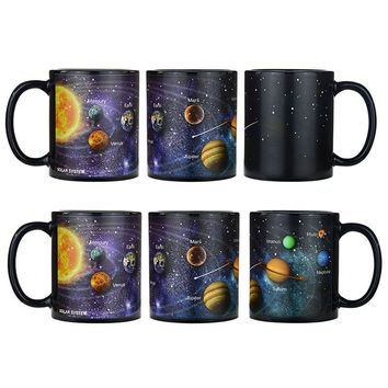 Solar System Heat Changing Coffee Mug