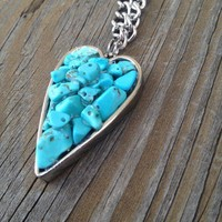 Heart Necklace from Country Wind