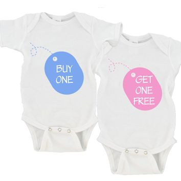 Buy One / Get One Free | Twin Set Gerber Onesuit ®