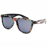 Neff Daily Astro Floral Sunglasses Black Combo One Size For Men 25269614901